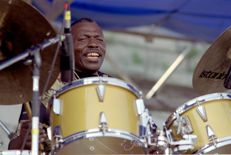 Elvin Jones August 1990