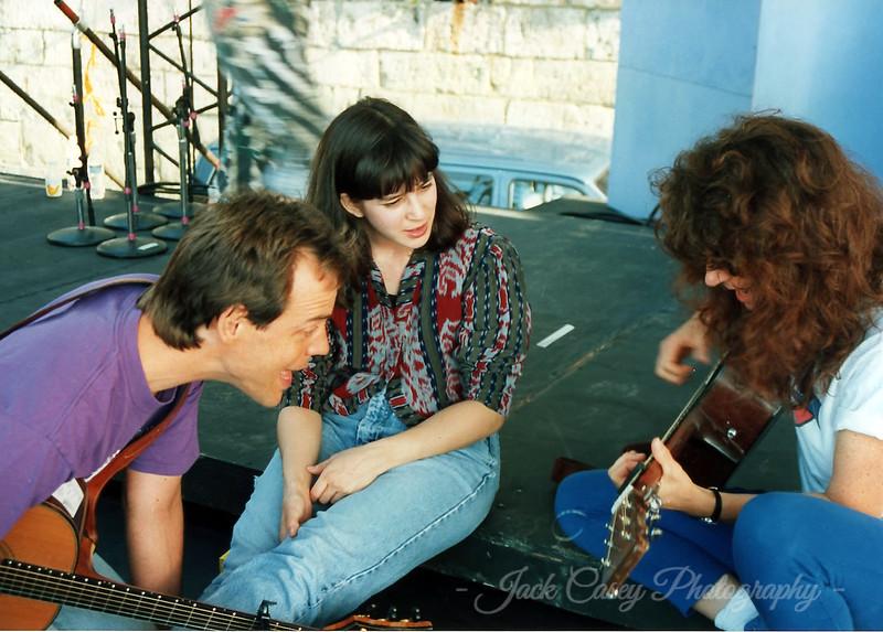 David Wilcox, Rachel Polisher & Patty Larkin 1992