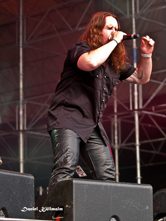 The aggressive singer of the band