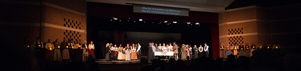 """Sabbath Prayer"" -- Fiddler on the Roof, Montgomery Blair High School, April 24, 2015"
