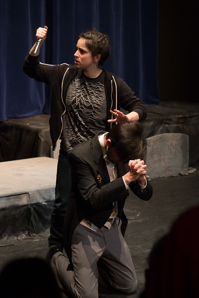 Hamlet over Claudius -- Hamlet, Montgomery Blair High School, Silver Spring, MD, November 2016