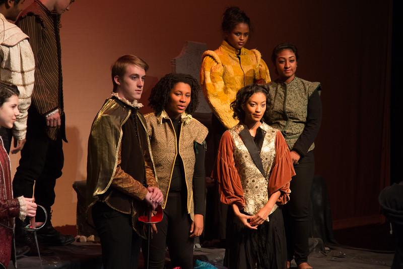 Hamlet, Montgomery Blair High School, Silver Spring, MD, November 2016