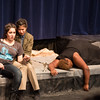 Hamlet, mortally wounded, with Francisco and Gertrude (dead by poison) -- Hamlet, Montgomery Blair High School, Silver Spring, MD, November 2016