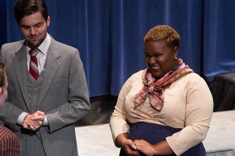 Claudius and Gertrude -- Hamlet, Montgomery Blair High School, Silver Spring, MD, November 2016