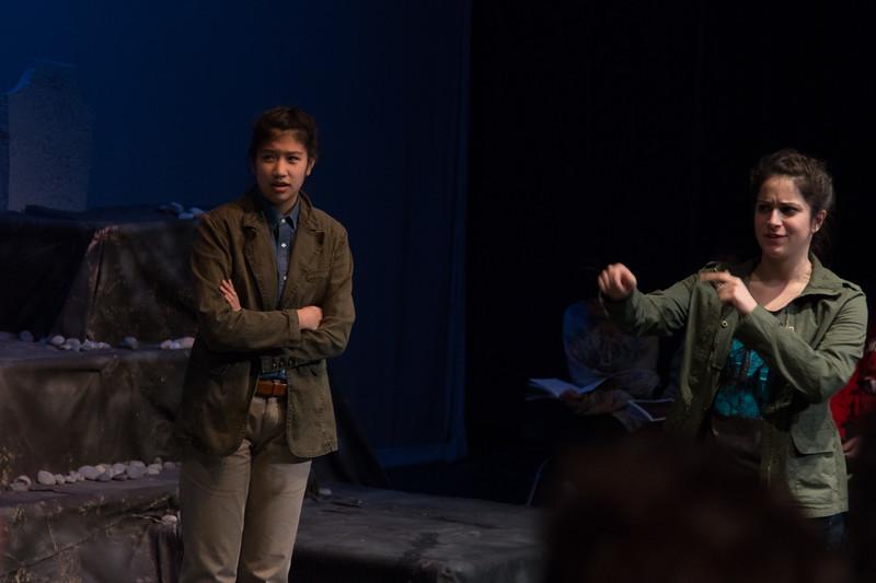 Hamlet and Horatio -- Hamlet, Montgomery Blair High School, Silver Spring, MD, November 2016