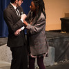 Claudius and Ophelia -- Hamlet, Montgomery Blair High School, Silver Spring, MD, November 2016