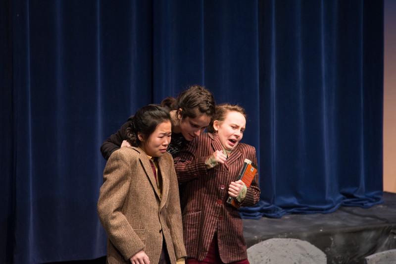 Hamlet with Rosencrantz & Guildenstern -- Hamlet, Montgomery Blair High School, Silver Spring, MD, November 2016