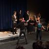 Laertes and Hamlet swordfight -- Hamlet, Montgomery Blair High School, Silver Spring, MD, November 2016