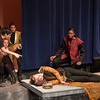 Poisoning the king (play within a play) -- Hamlet, Montgomery Blair High School, Silver Spring, MD, November 2016