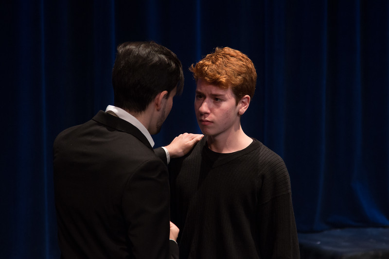 Claudius and Laertes -- Hamlet, Montgomery Blair High School, Silver Spring, MD, November 2016
