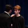 Claudius and Laertes -- Hamlet, Montgomery Blair High School, Silver Spring, MD, November 2016