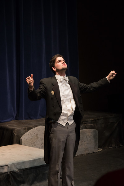 Claudius -- Hamlet, Montgomery Blair High School, Silver Spring, MD, November 2016