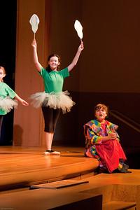 """""""Joseph's Dreams"""" (corn) -- Joseph and the Amazing Technicolor Dreamcoat, Imagination Stage summer camp"""