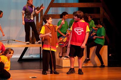 """Joseph's Coat"" (Jacob & Joseph) -- Joseph and the Amazing Technicolor Dreamcoat, Imagination Stage summer camp"