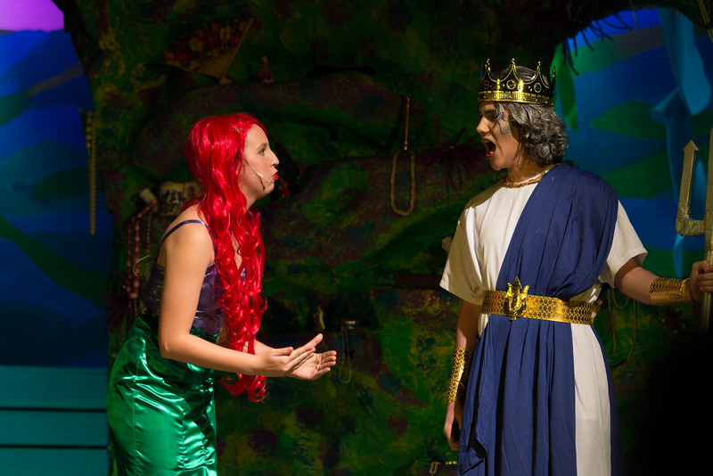 The Little Mermaid, spring musical for Tilden Middle School, Rockville, MD, May 2016