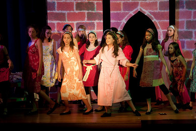 """Once Upon a Mattress,"" Imagination Stage summer camp, Aug 12, 2009"