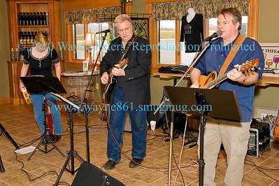 Lochside Duo with Janie B at Schulze Winery, March 13, 2010.