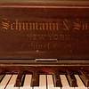 "This is interesting.  The harp says ""Schumann & Sons"" .  Makes you wonder what happened to that family relationship."