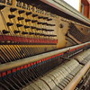 There are four patent numbers ranging from 1890 to 1893 cast into the harp.