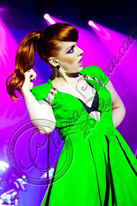 HOLLYWOOD, CA - JUNE 16:  Vocalist Ana Matronic of Scissor Sisters performs at Hollywood Palladium on June 16, 2012 in Hollywood, California.  (Photo by Chelsea Lauren/WireImage)