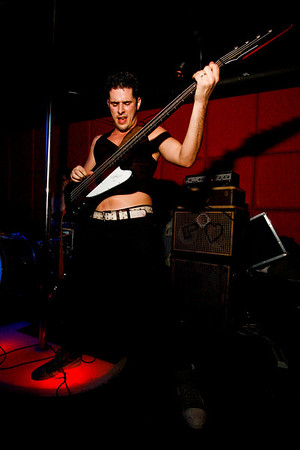 Semi Precious Weapons - The R Bar, NYC - February 28th, 2008 - Pic 9