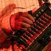 Preston Frank's playing the accordion