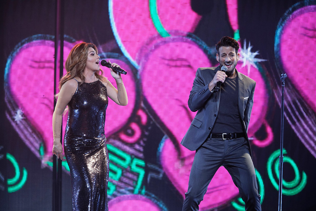 . Shania Twain live at Little Caesars Arena on 6-15-2018.. Photo credit: Ken Settle