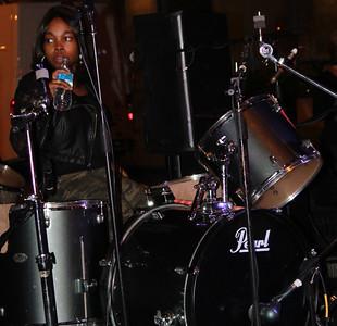 Sharde Thomas is one badass drummer.