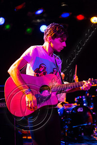 WEST HOLLYWOOD, CA - DECEMBER 12:  Guitarist Jason Bovino of Sheppard performs at The Roxy Theatre on December 12, 2012 in West Hollywood, California.  (Photo by Chelsea Lauren/WireImage)