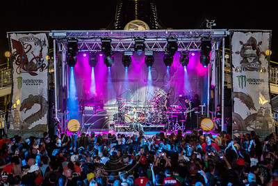 FORT LAUDERDALE, FL - NOVEMBER 27:  Godsmack performs onboard Shiprocked! cruise on November 27, 2012 in Fort Lauderdale, Florida.  (Photo by Chelsea Lauren/Getty Images)