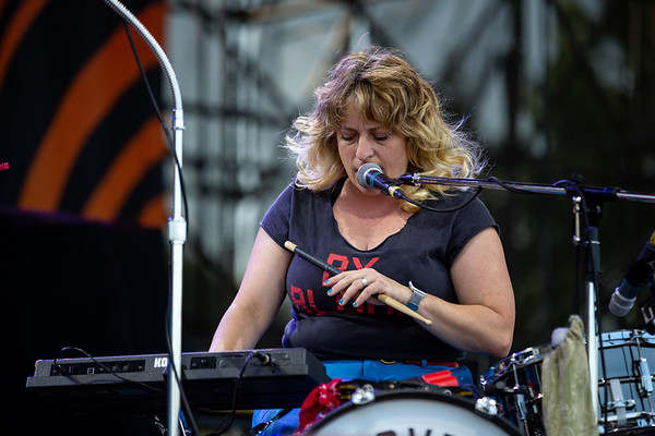 Shovels and Rope opening for Tedeschi Trucks Band at the Farm Bureau Insurance Lawn at White River in Indianapolis, Indiana on July 24, 2019. Photo by Tony Vasquez for Jams Plus Media.