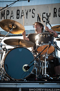 Mark Goodwin of Sick Puppies performs on May 28, 2011 during 97X Backyard BBQ at Vinoy Park in St. Petersburg, Florida