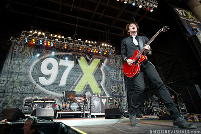 Shimon Moore of Sick Puppies performs on December 5, 2010 during 97X Next Big Thing at 1-800-ASK-GARY Amphitheatre in Tampa, Florida