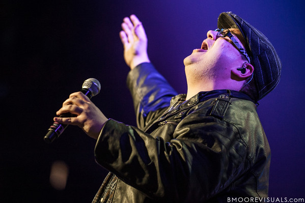 Sidewalk Prophets perform on January 12, 2013 during Winter Jam at Tampa Bay Times Forum in Tampa, Florida