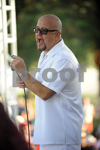 THE FABULOUS THUNDERBIRDS headlining the Simi Valley Blues Festival, May 27, 2012, Simi Valley, California, USA.  The legendary blues band features Kim Wilson co founder, singer and harmonica, Mike Keller on guitar, Randy Bermudes on bass, Jay Moeller on drums, Johnny Moeller on guitar.  Kevin Anker sat in on keyboard and Leslie B3.  Photo by  SCOTT Mitchell  copyright  2012    May 27   scottmitchellphotography.com