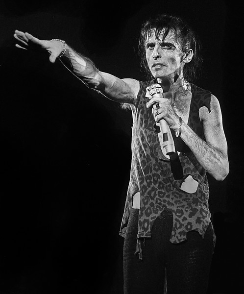 Alice Cooper Performing in 1978