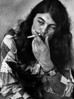 Ian Gillan Relaxing Backstage