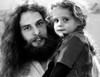 Ted Nugent and Daughter Sasha in 1977