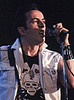 Mick Jones, of Punk Rock legends The Clash, performs at the US 83 Rock Festival in San Bernardino, California on May 28, 1983.