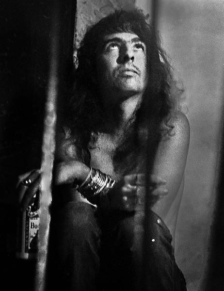 Alice Cooper Noir Portrait