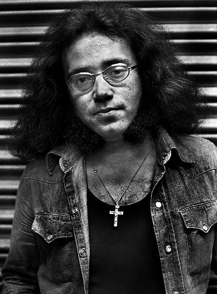 Deep Purple percussionist Ian Paice in 1973