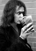 Ritchie Blackmore Holding Two Large Soda Cups