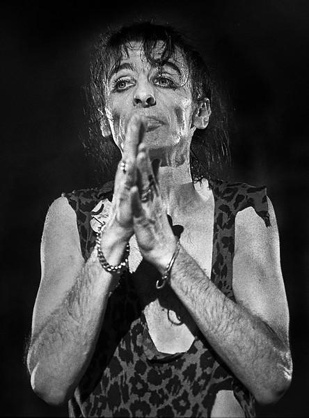 Alice Cooper in 1978 Concert