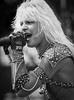 Vince Neil Performs at 1983 Rock Festival