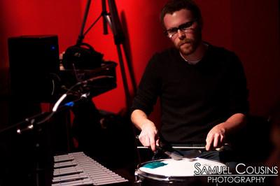 Sean Morin performing at Slainte
