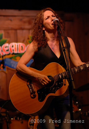 Lisa Morales of the Sisters Morales at Threadgills Austin TX