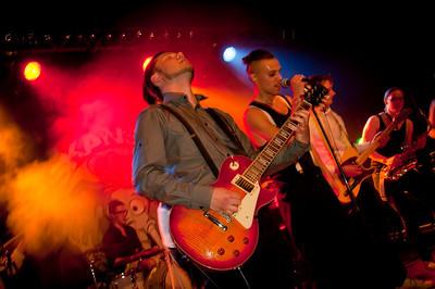 Bandet skansen spelar i Uppsala maj 2011