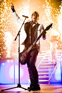 John Cooper of Skillet performs on January 14, 2012 at Tampa Bay Times Forum during Winter Jam in Tampa, Florida
