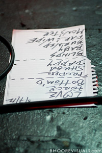 Set list for Sleeper Agent's performance on March 7, 2012 at State Theatre in St. Petersburg, Florida