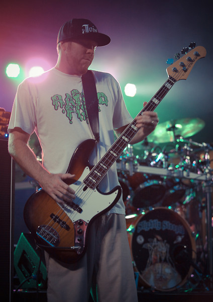 Bryce Lafoon photographs the band Slightly Stoopid in Wilmington, NC at Greenfield Lake.